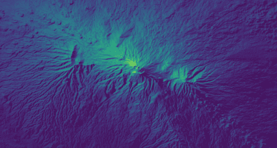 Kilimanjaro image from the Open Data Cube